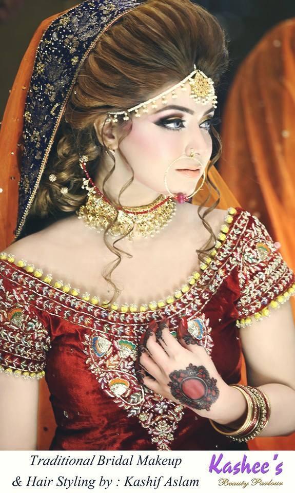 Pakistani Bridal Hairstyles For A Perfect Look 5