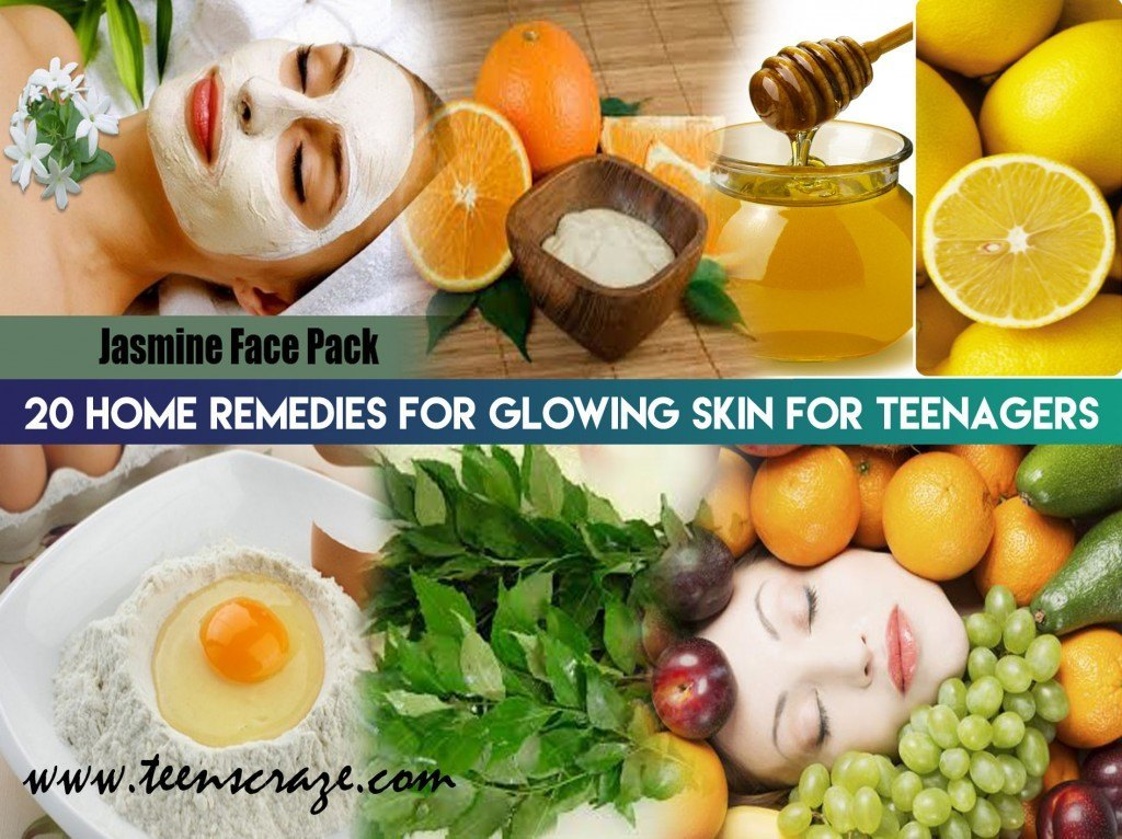 20 Home Remedies for Glowing Skin for Teenagers