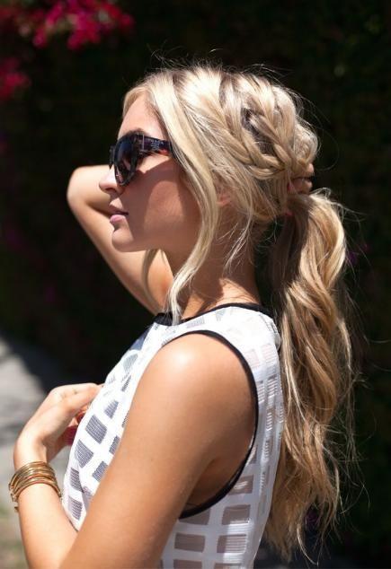 #8 - Ponytail Braid Hairstyle