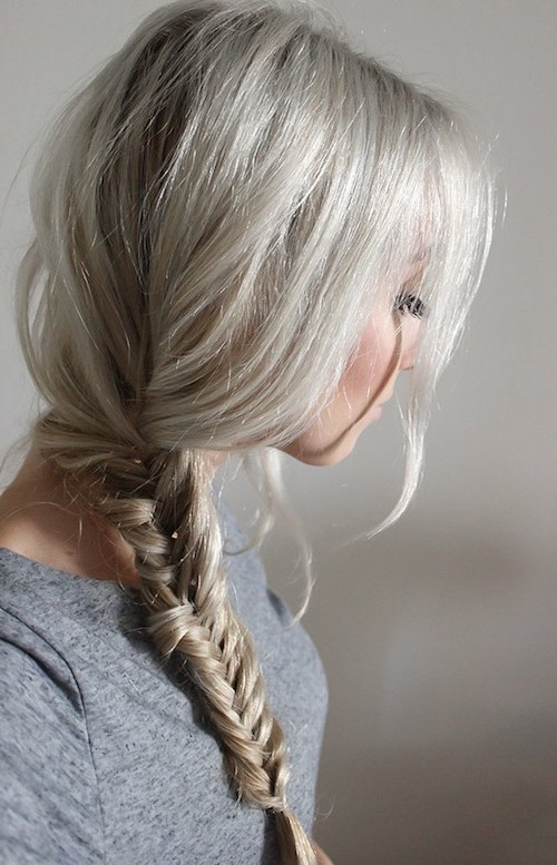 #9 - Fishtail Braid Hairstyle for Everyday School Look