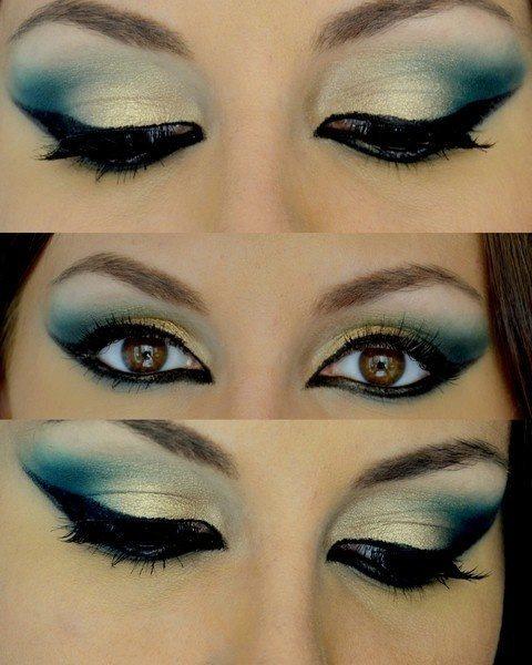 Latest arabian eye makeup tips