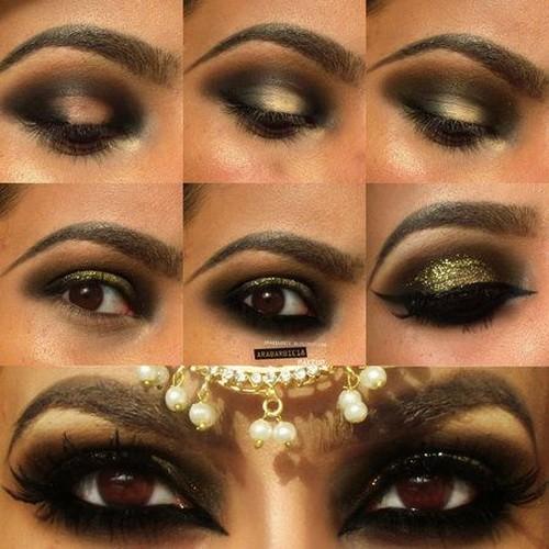 easy arabic-eye-makeup-tutorial