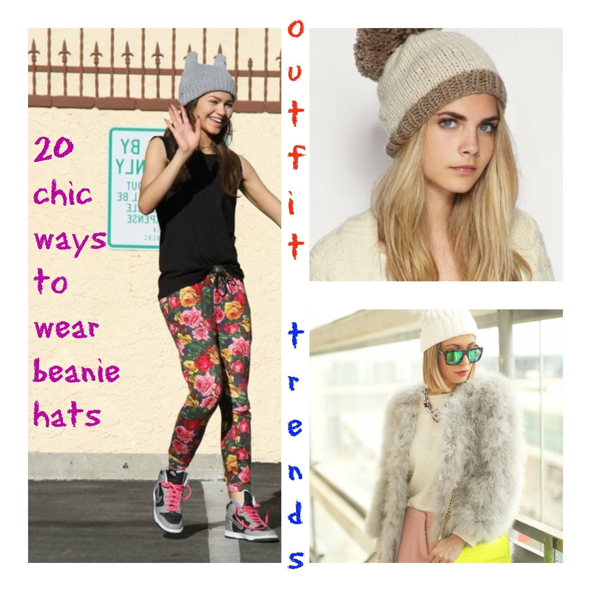 How To Wear Beanie Hats 20 Chic Outfits To Wear With Beanies Cheap Casual Dress Fashion Tips For Men Or Women