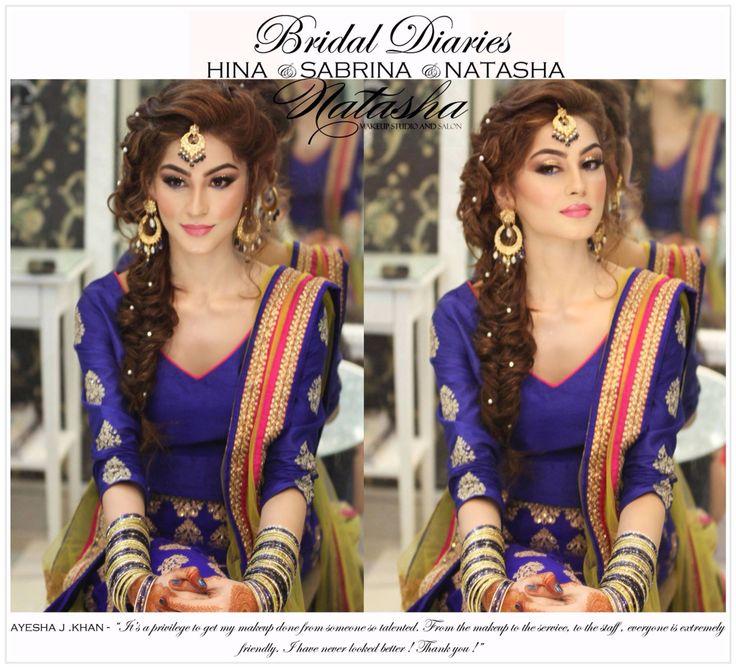 cute Bridal Mehndi Hairstyles (4)