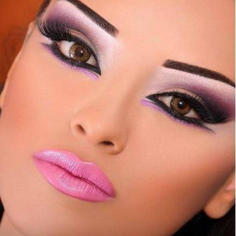 smokey eye makeup arab girls