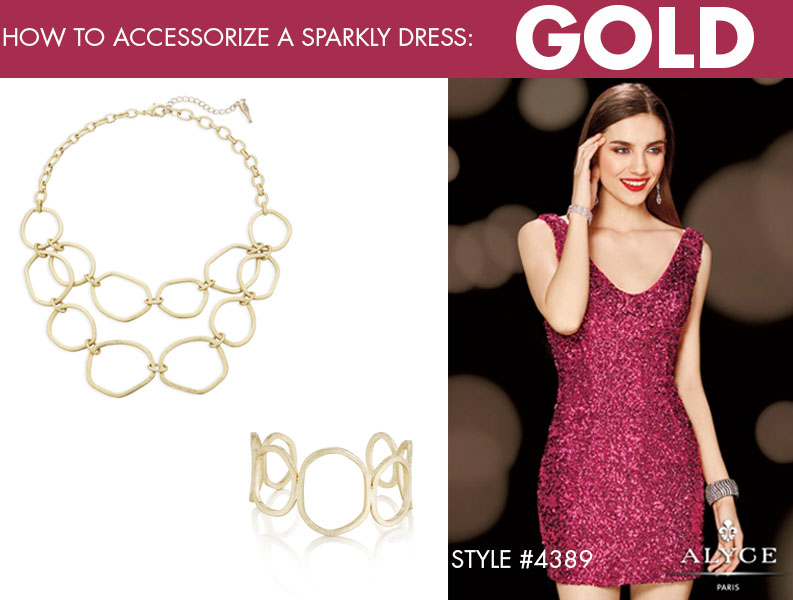 How to accessorize a sparkly dress Cheap Casual Dress Fashion Tips