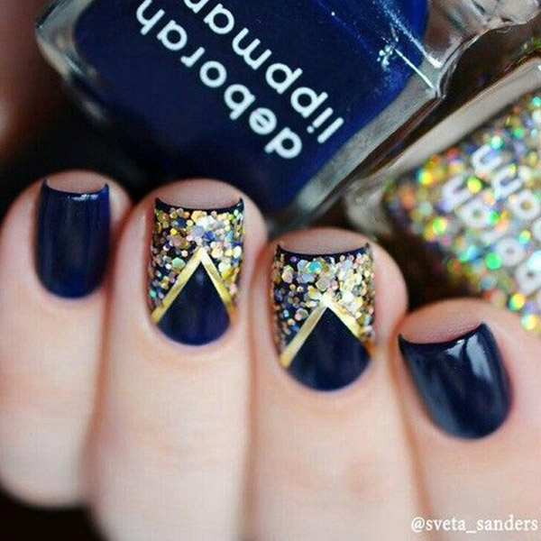 15 Must Try Blue Manicures For Summer | Cheap Casual Dress Fashion ...