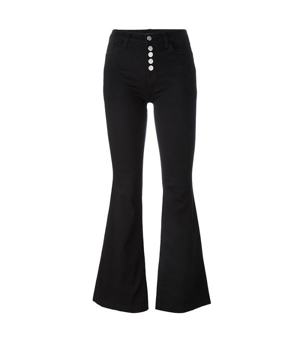black flared jeans - J Brand Flared Jeans
