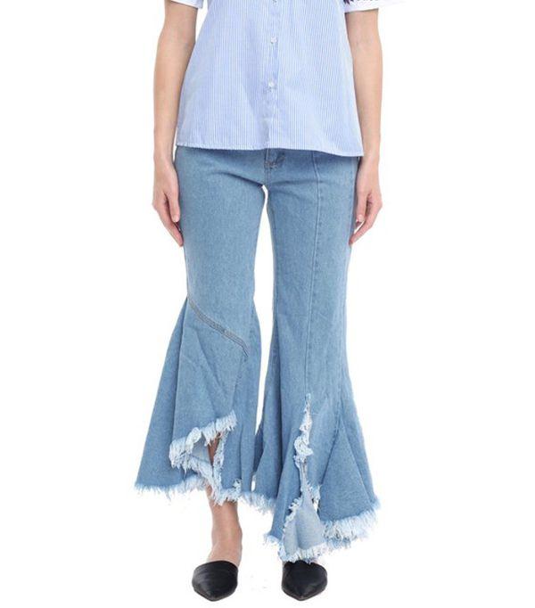 denim flare jeans - Style Mafia Jenny Pants