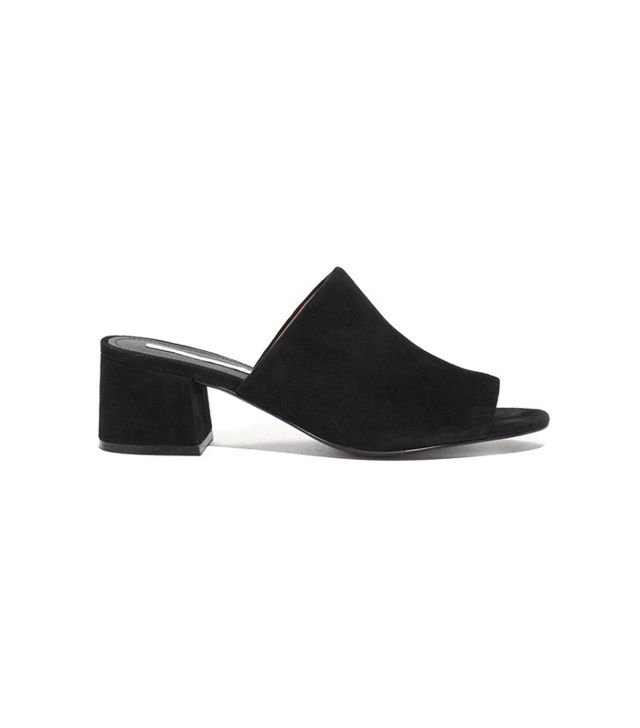 French girl wardrobe - & Other Stories Suede Sandalette Mule