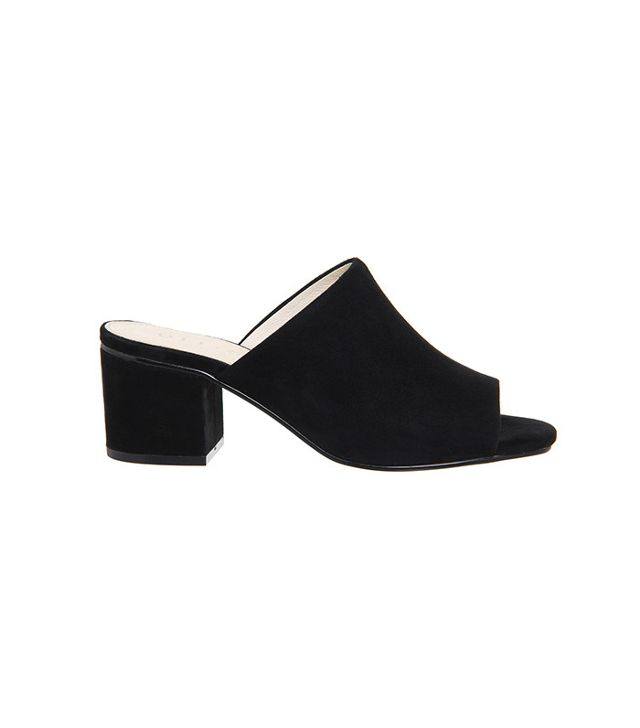 French girl wardrobe - Office Madness Block Heel Mules