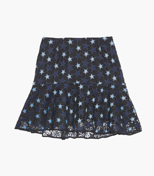Sandro Lace Star Skirt