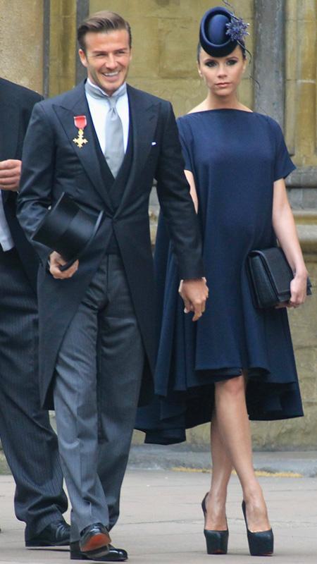 Victoria Beckham at Royal Wedding