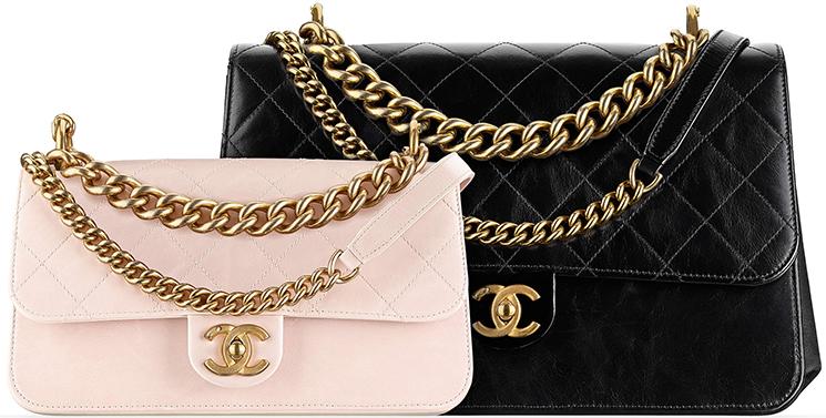 de5b4d5e84aa Chanel Straight-Lined Flap Bag. Chanel-Métiers-d Art-2016-17-Paris- Cosmopolite-