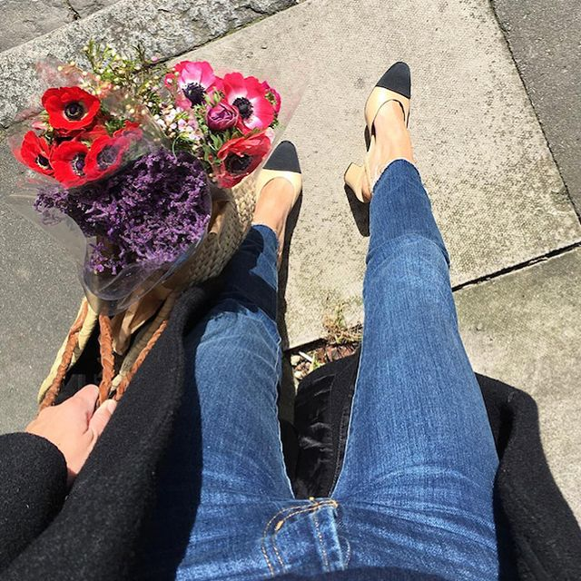 The Affordable Jeans Every French Girl Wanted Are Back in Stock
