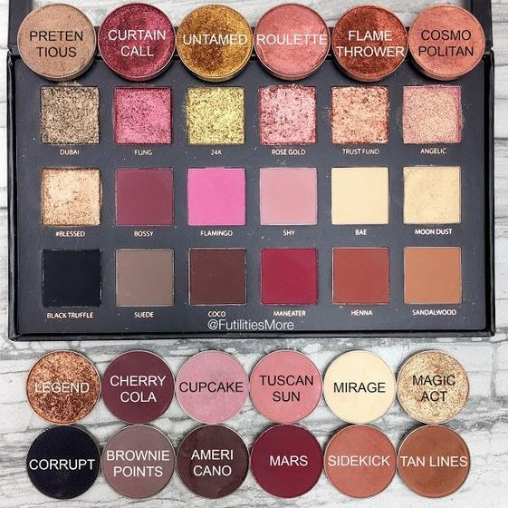 The Huda Beauty Textured Shadows Rose Gold Palette is one of the best eyeshadow palettes!