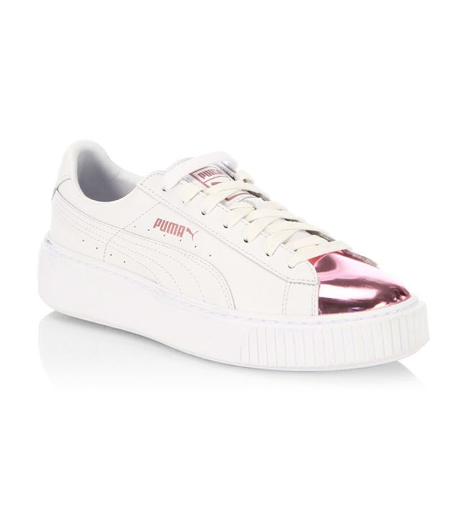 f842b84ad8f08d Puma s New Rose-Gold Sneakers Are Ridiculously Pretty - Cheap Casual ...