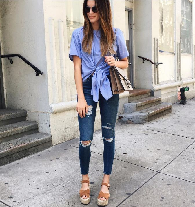 20 Ways To Wear Jeans With Heels