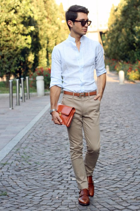 how to wear monk strap shoes for men (10)