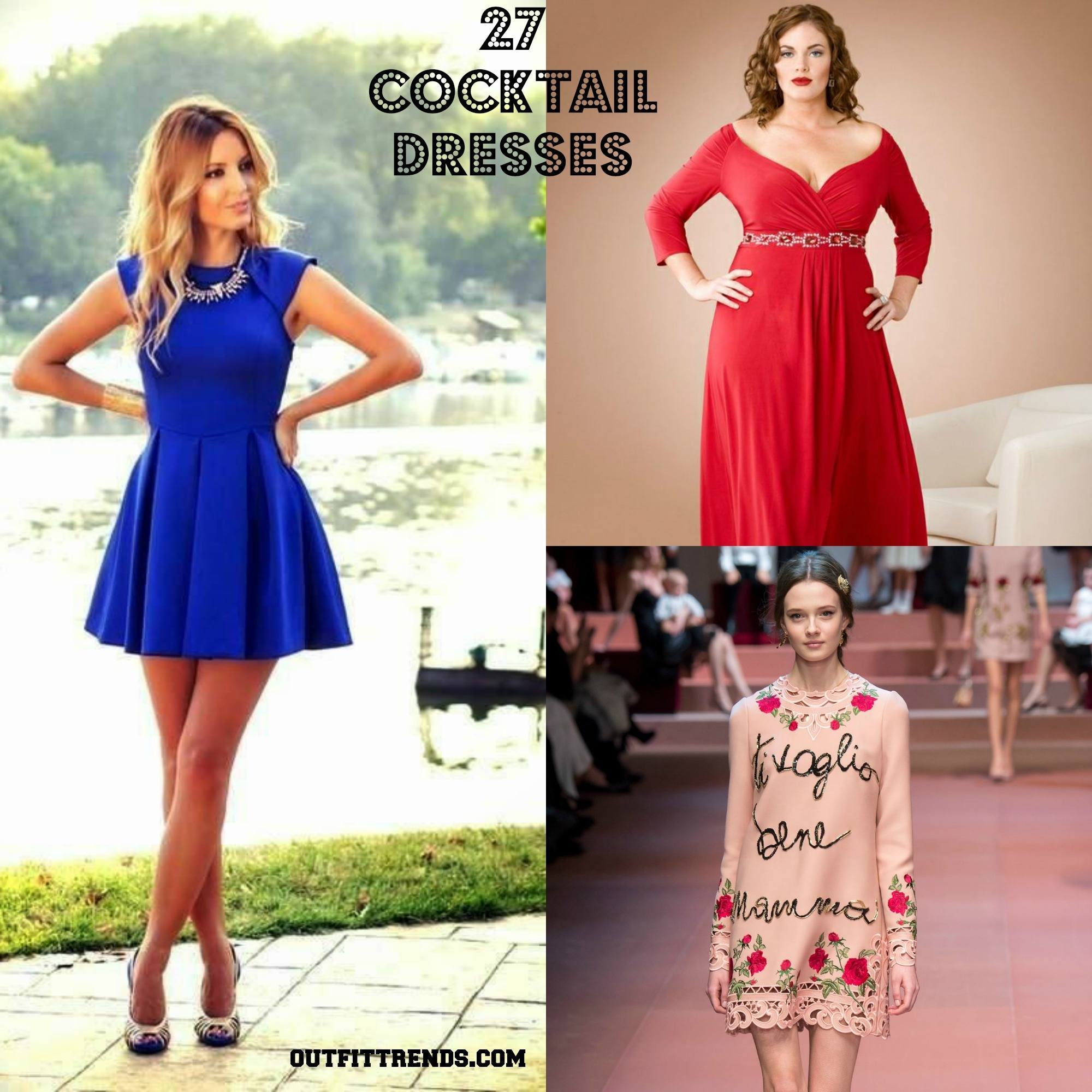 Cocktail Party Outfits- 27 Dresses to Wear at Cocktail Party | Cheap ...
