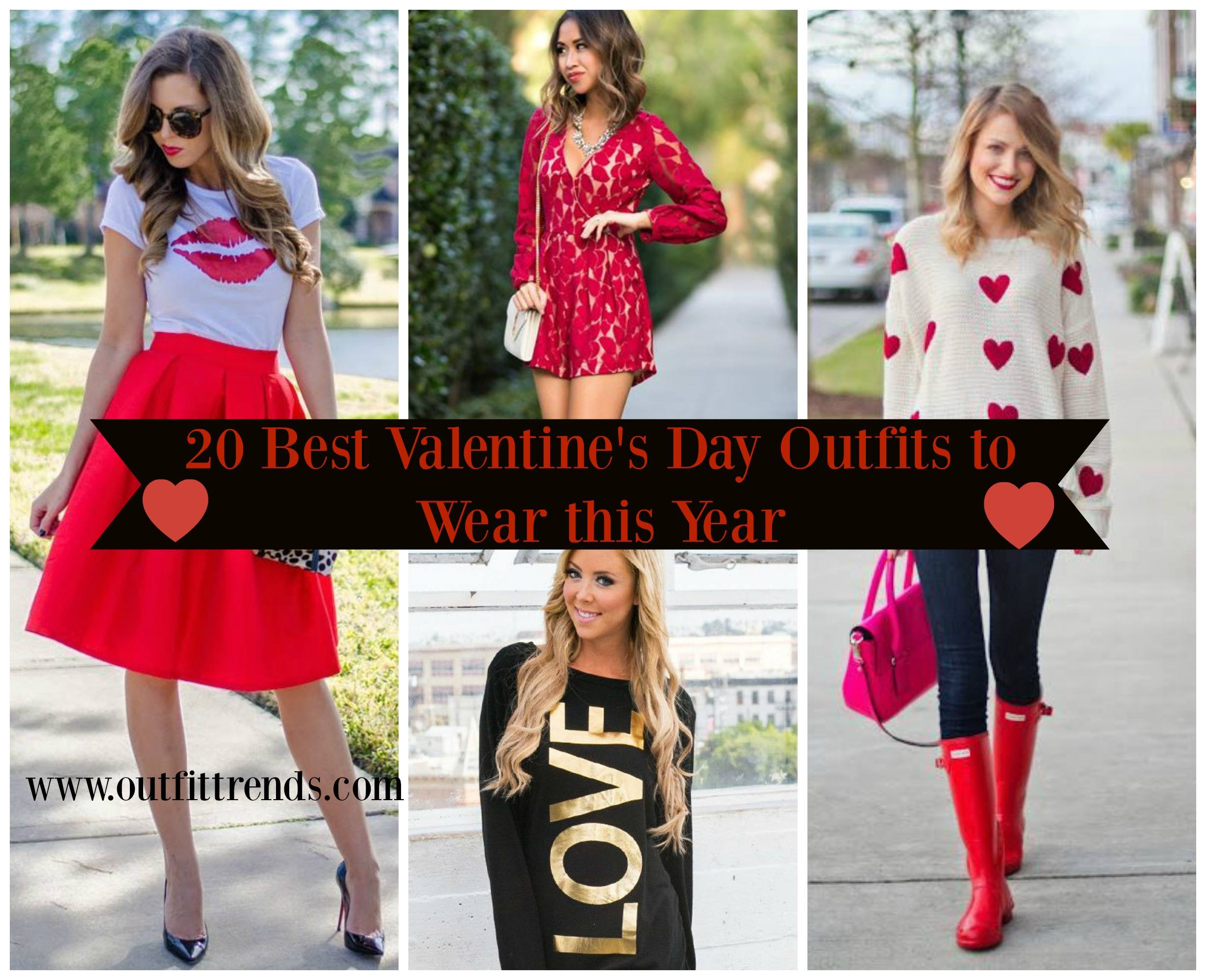 a2cce87ea03 Top 20 Amazing Outfits Ideas For Valentine s Day 2017 - Cheap Casual Dress  Fashion Tips For Men or Women