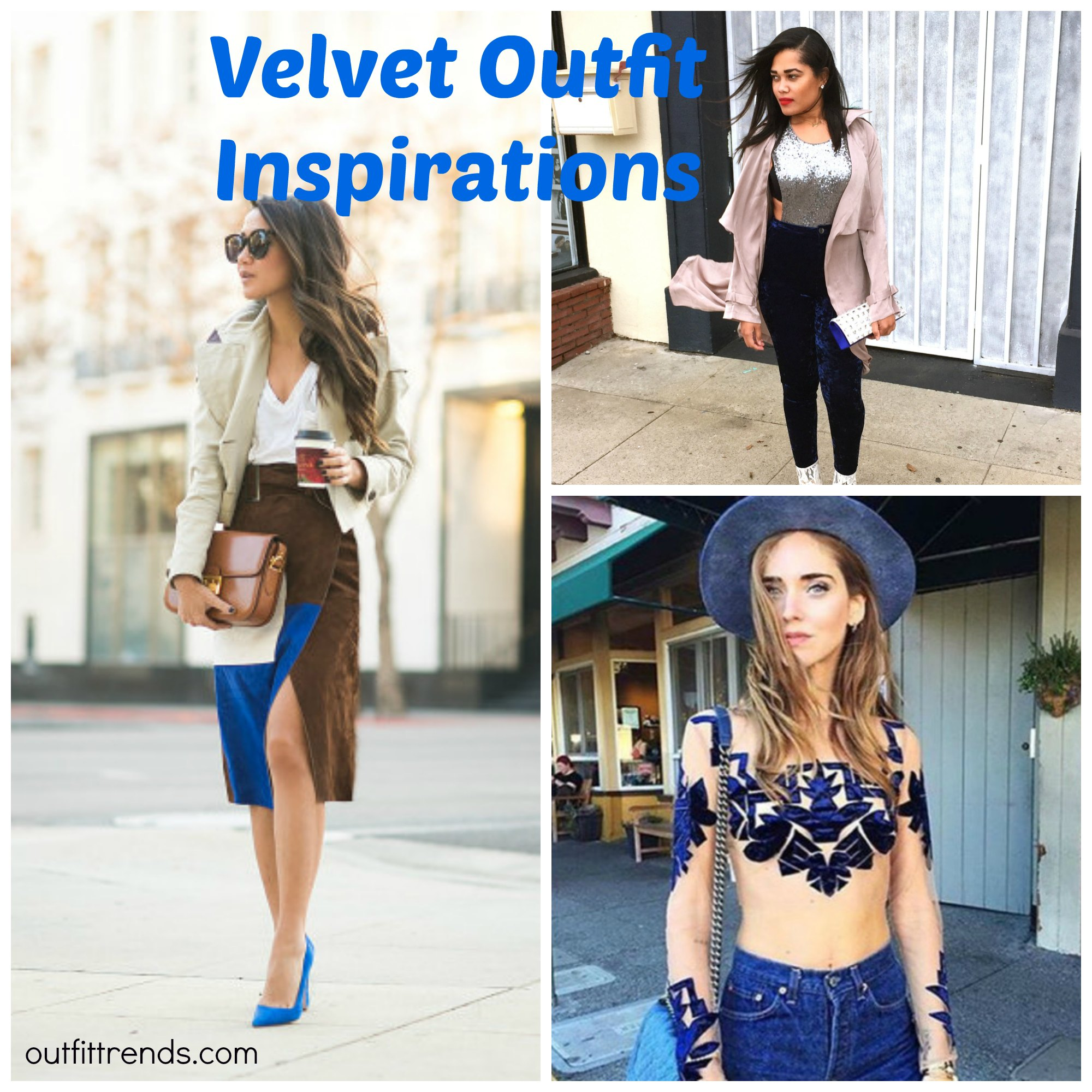Velvet Outfit ideas-20 Ways to Wear Velvet Dresses Stylishly