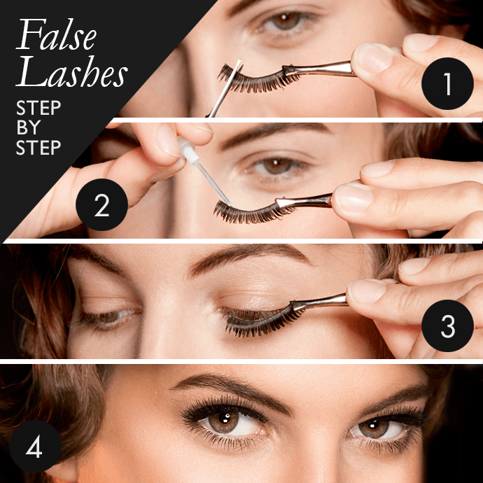 How To Wear Fake Eyelashes For Beginners Step By Step Tutorial