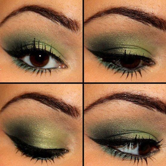 Best Green Smokey Eye Make Up Ideas Looks