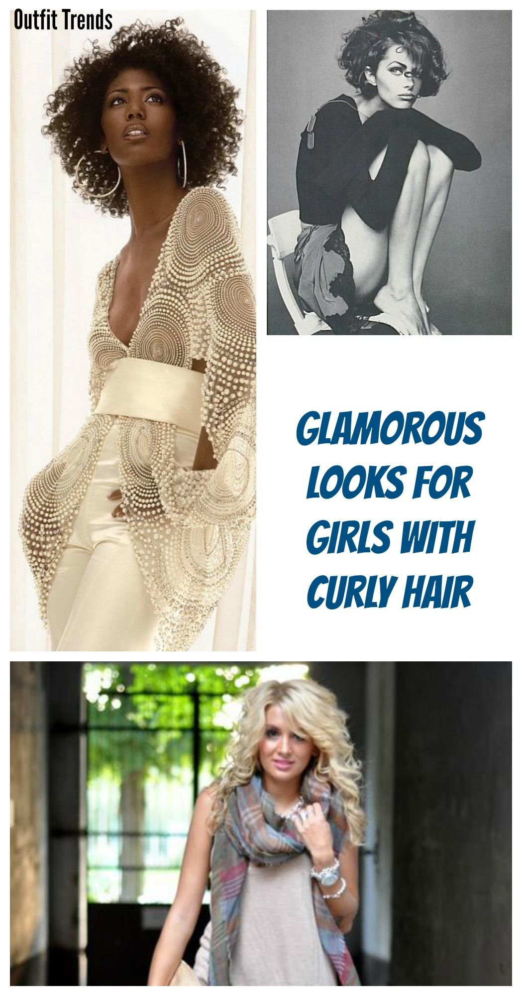 643f5e942edd 25 Cute Outfits for Curly Hair Women for Glamorous Look - Cheap ...