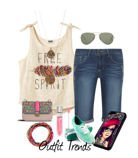 ec0a6fb58cd 10 Most Funky Summer Outfits For Teenage Girls to Try - Cheap Casual ...