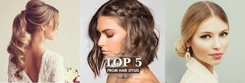 Top 5 Prom Hairstyles | Perfect For A Dress With An Intricate ...