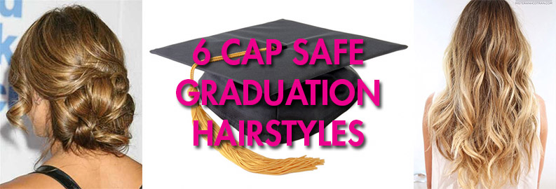 6 Cap Safe Graduation Hairstyles Cheap Casual Dress Fashion Tips