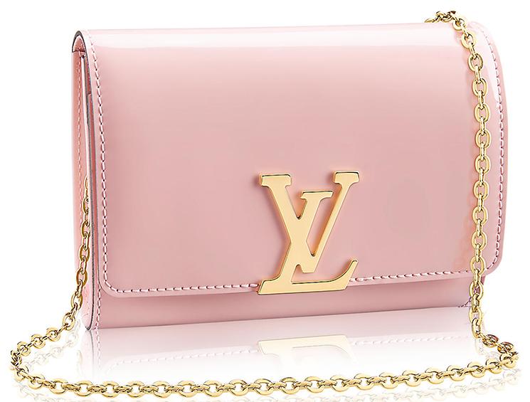 1e90216b881c Louis Vuitton Vernis Lisse Louise Clutch with Chain - Cheap Casual ...