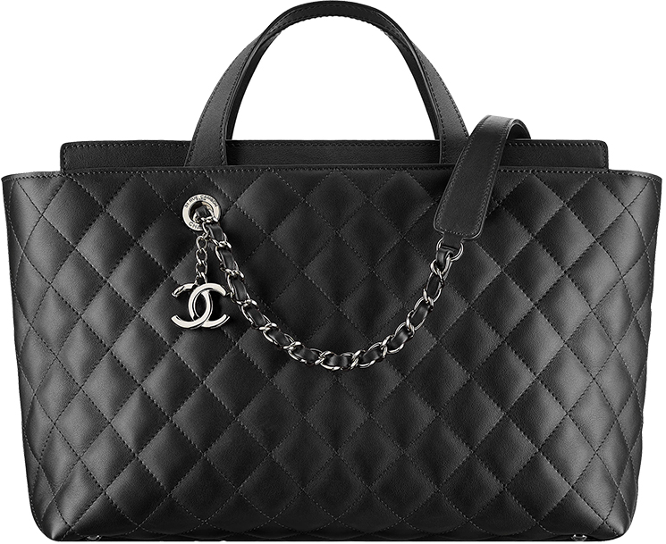 c165aabe465f Chanel-Métiers-d'Art-2016-17-Paris-Cosmopolite-. Chanel Large Quilted  Shopping Bag