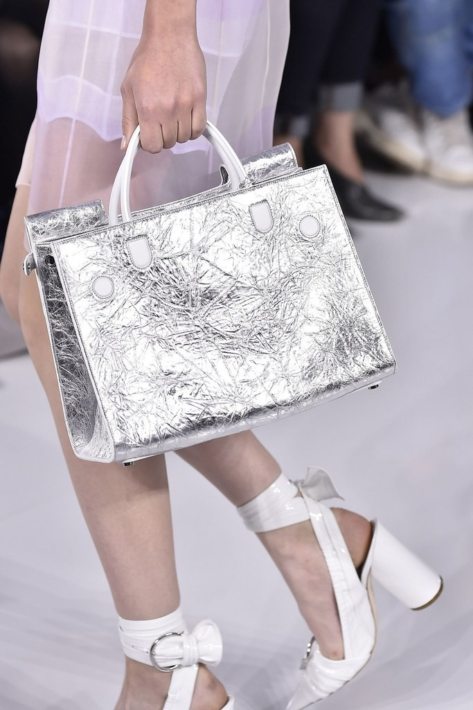 Revived Glamour of Silver Bags