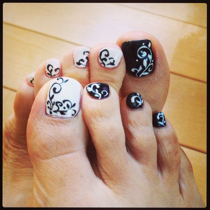 awesome toe nail designs