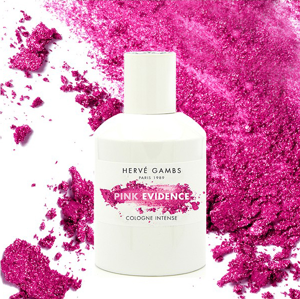 Herve gambs pink evidence bottle