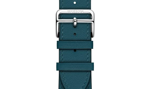 Apple Watch Hermes 38mm Fauve Barenia Leather Double Buckle Cuff