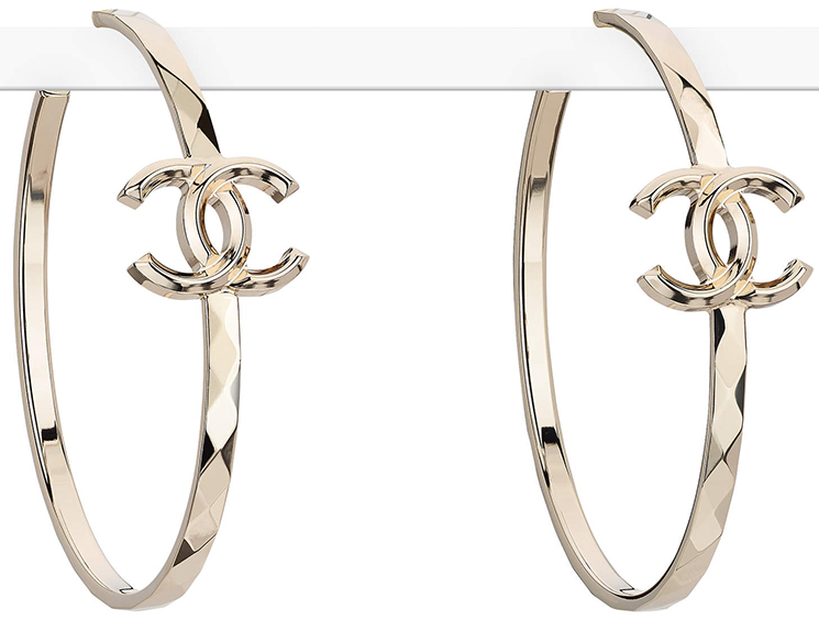 Chanel Earring From The Spring Summer 2017 Collection