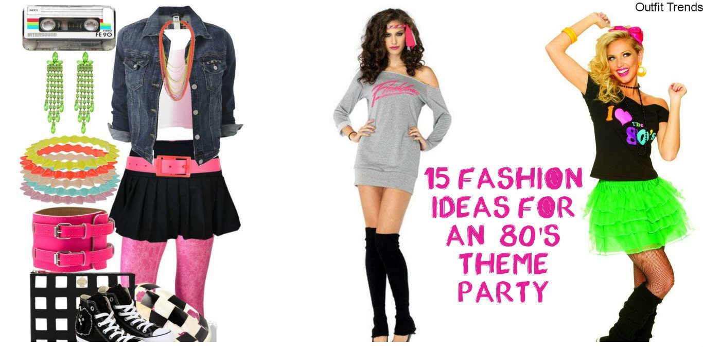 8s Theme Party Outfit Ideas – 8 Fashion Ideas From 198s - Cheap