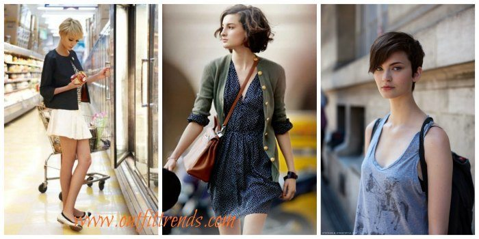 25 Cute Outfits With Short Hair Dressing Style Ideas Cheap Casual Dress Fashion Tips For Men Or Women