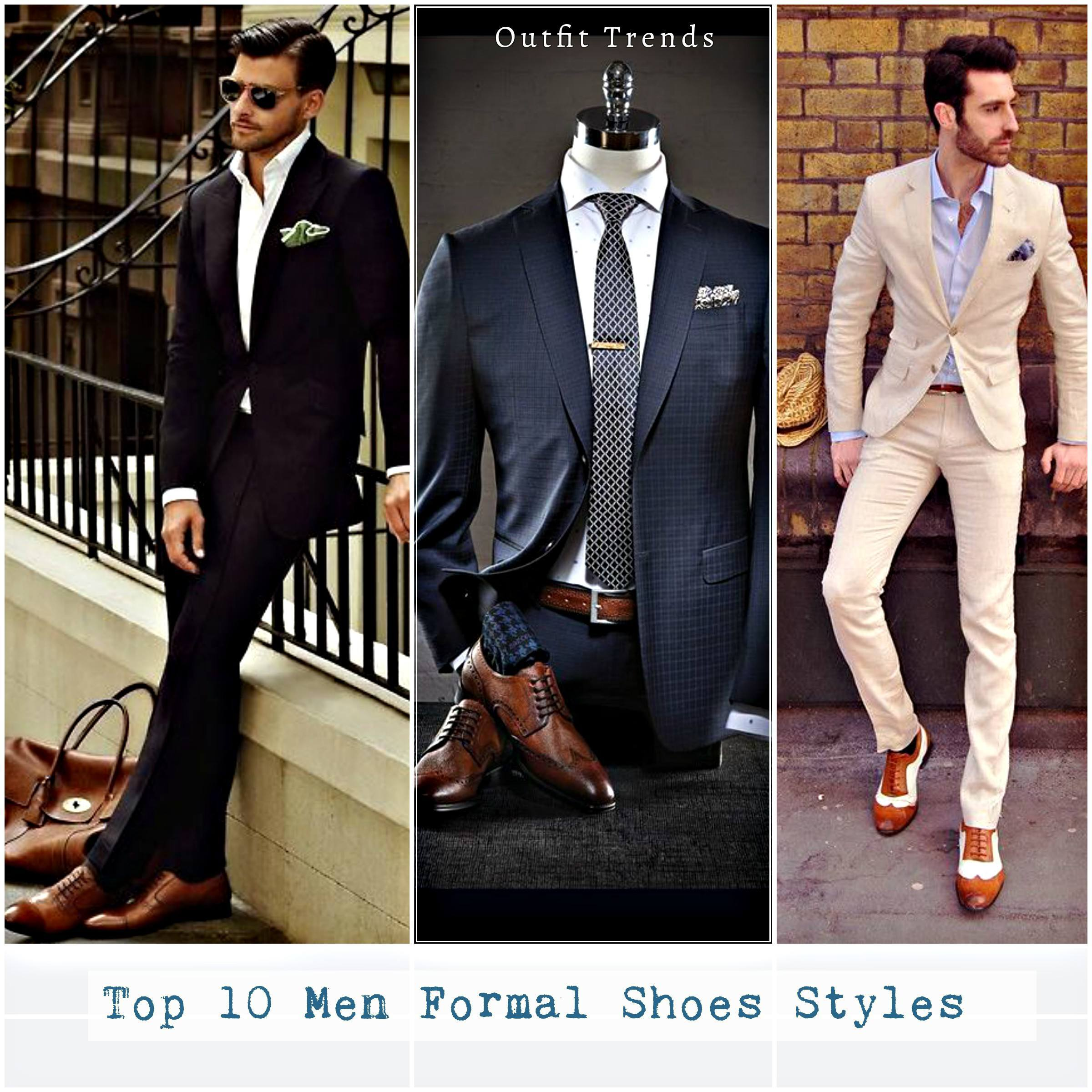 Top 10 Men Formal Shoes Styles And
