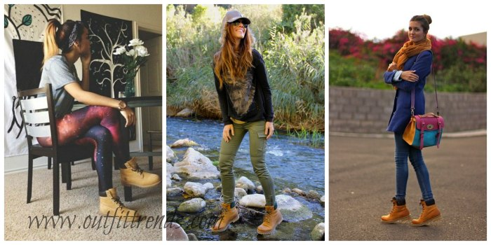timberland boots girl style