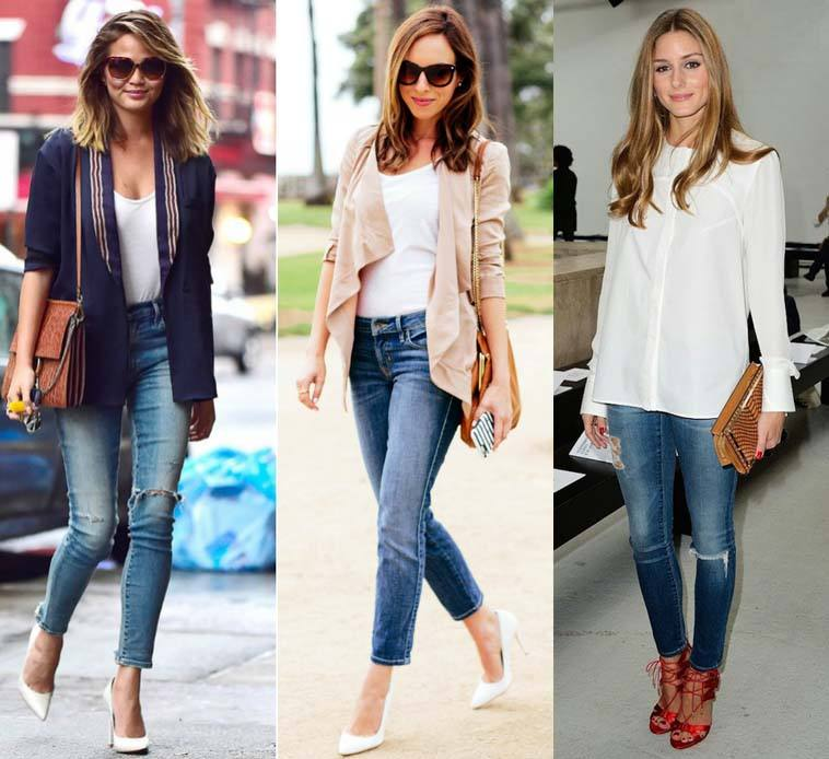 Jeans Outfits In Heels 20 Ways To Wear Jeans With Heels