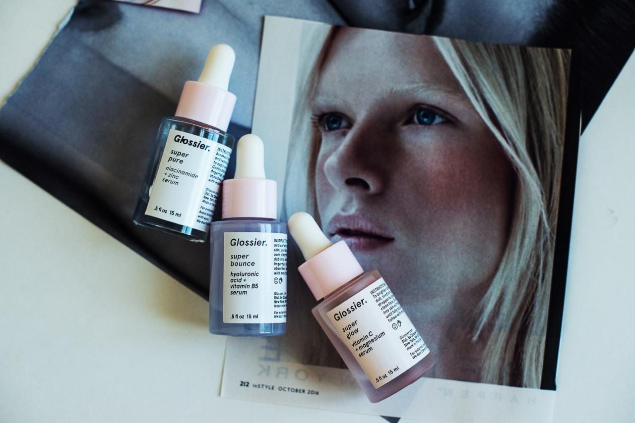 glossier the supers serum