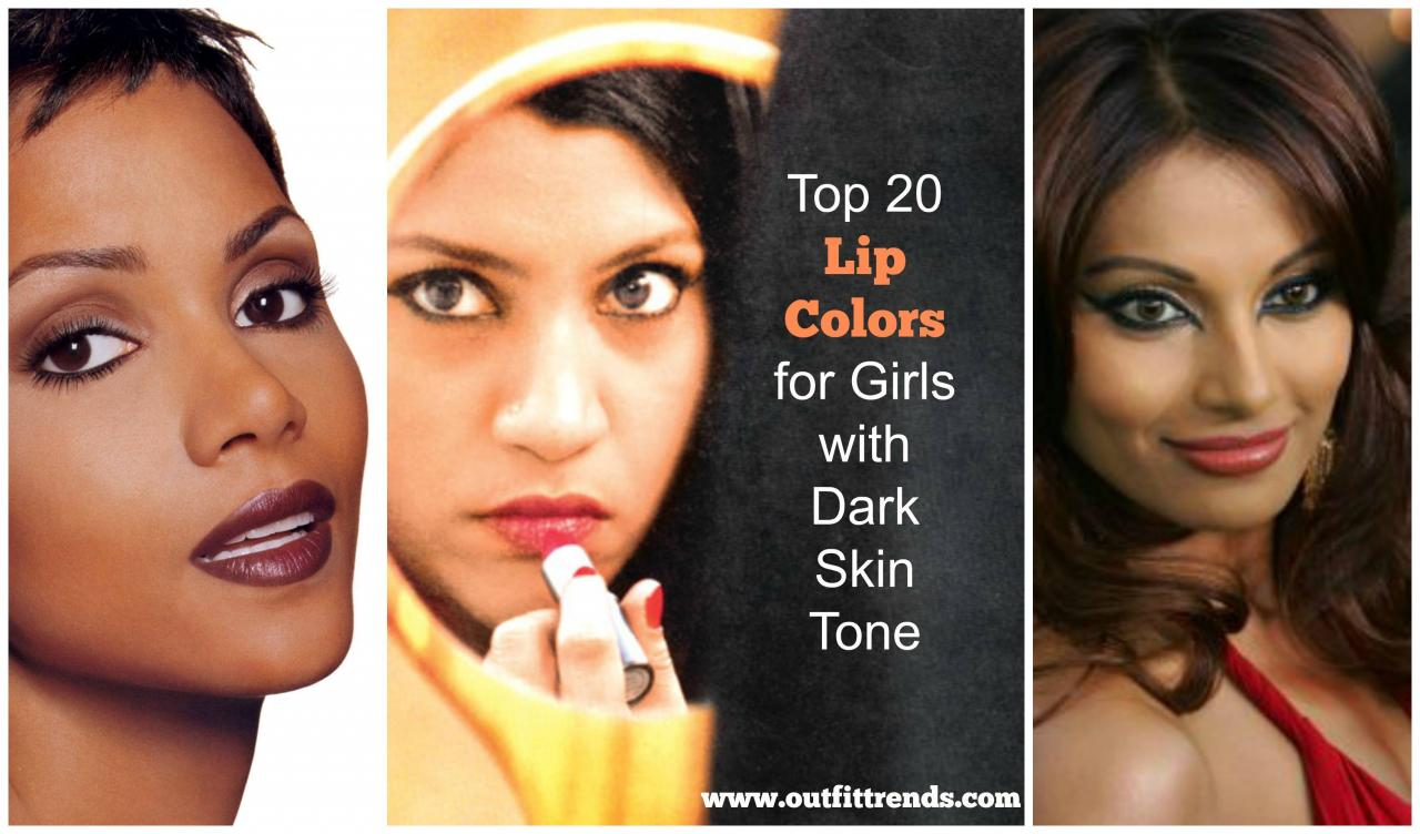 lipsticks for girls with dark skin